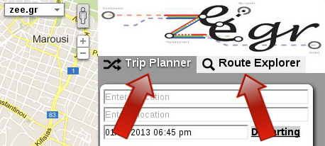 trip planner and route explorer